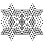 Богатство вариантов мощения плитки Ромб, дает возможность для создания неповторимого индивидуального эффекта.