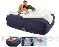 Двуспальная надувная кровать Intex 66956 (152x203x56 см.)