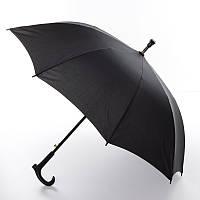 Зонтик MK 3100, длина 81см, трость 74см, диам.97см, спица 60см, ткань, черный, трость