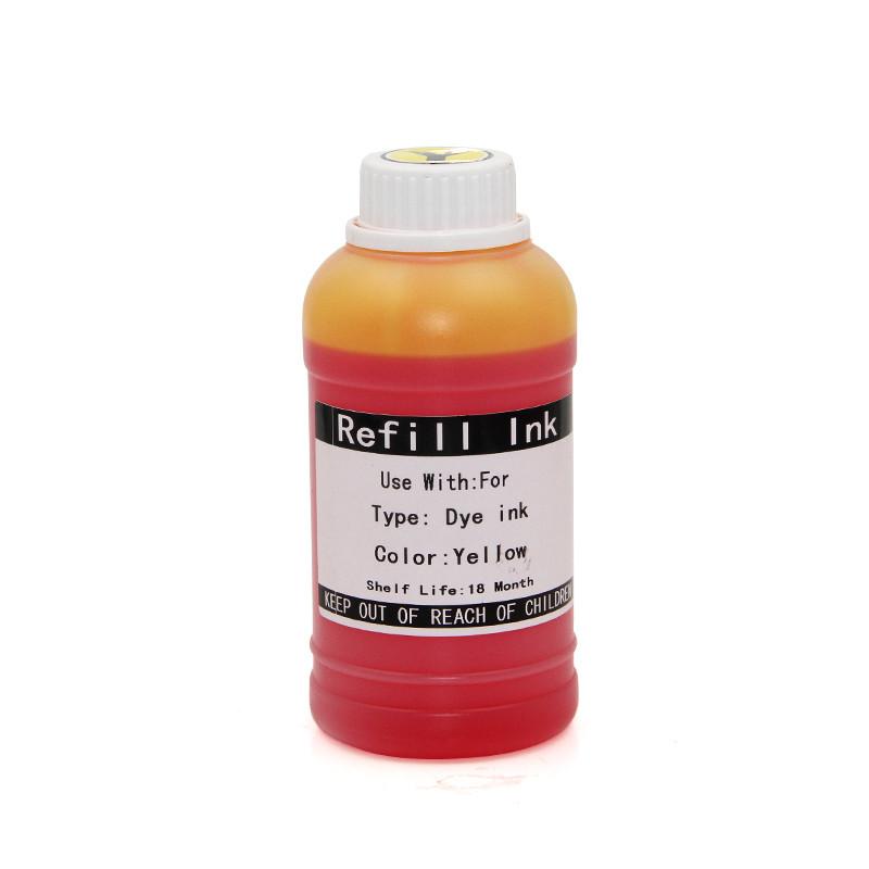 Водные чернила Ocbestjet для плоттеров Canon imagePROGRAF iPF6xx/7xx/8xx, Yellow, 250 мл