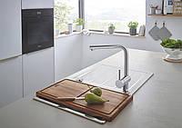 Стильный смеситель для кухни KRAFT из нержавеющей стали