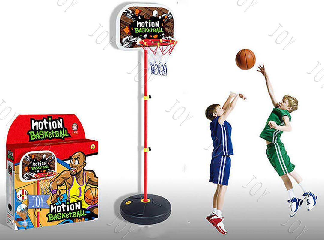 Баскетбольное кольцо на стойке HF 606 (12) высота 105 см, в коробке