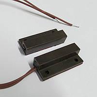 Датчик магнитоконтактный СМК 1-9P коричневый