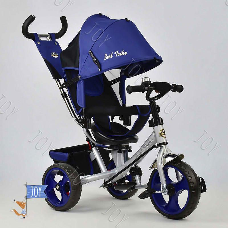 Велосипед 3-х кол. 5700 - 4230 /СИНИЙ/ Best Trike.