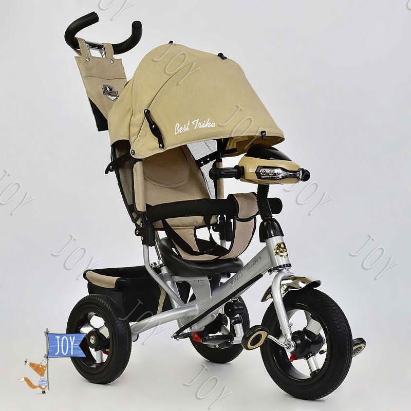 Велосипед 3-х кол. 6588 В - 2580 /БЕЖЕВЫЙ/ Best Trike,