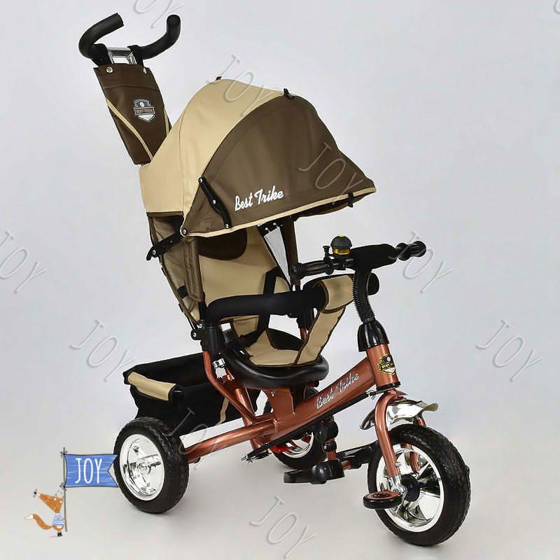 Велосипед 6588 - 0230 (1) /ШОКОЛАДНО-БЕЖЕВЫЙ/ Best Trike.