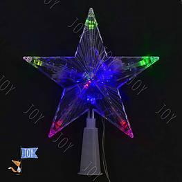 """Вертушка на ёлку С 23461 """"Звезда"""" (100) 1,3 метра длина шнура"""