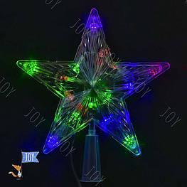 """Вертушка на ёлку С 23462 """"Звезда"""" (100) 1,35 метра длина шнура"""