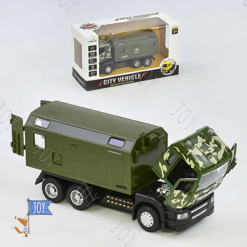 Военная техника 5005 (72) металопластик, в коробке