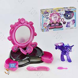 Волшебное зеркало Пони с аксессуарами 1086 (36) световые и звуковые эффекты, в коробке