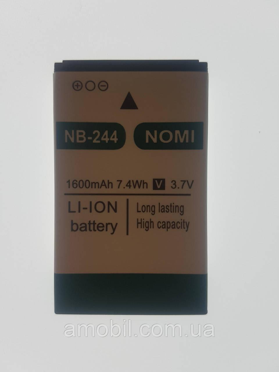 Аккумулятор Nomi i244 NB-244 (1600 mAh)