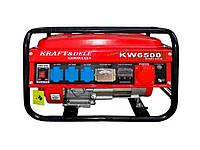 Генератор бензиновий KW6500 2.5 кВт (без гарантії) ТМKRAFTDELE