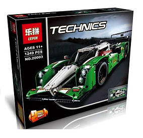 Конструктор Lepin 20003 Техника Гоночная машина 2в1 24 Hours Race Car (аналог Lego Technic 42039)