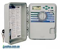 Hunter X-Core 401-E контроллер для управления 4-мя зонами полива (наружный)