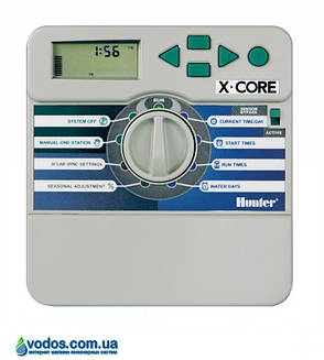 Hunter X-Core 401i-E контроллер для управления 4-мя зонами полива (внутренний), фото 2