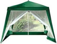 Павильон садовый-шатер с москитной сеткой и молниями. Доставка Новой почтой по Украине