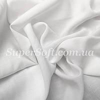 Ткань штапель белый, фото 1