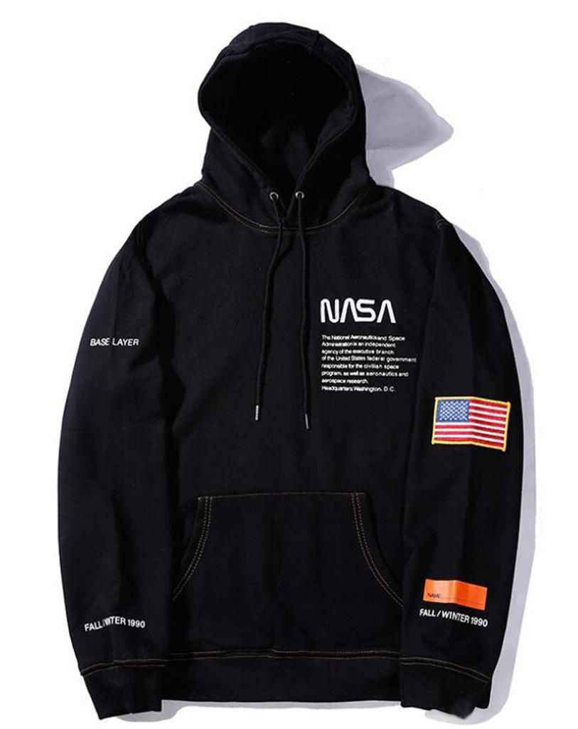 Худи NASA x Heron Preston (толстовка, кофта с капюшоном наса мужская женская)