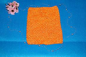 ТОП-сітка для плаття туту колір помаранчевий, фото 2