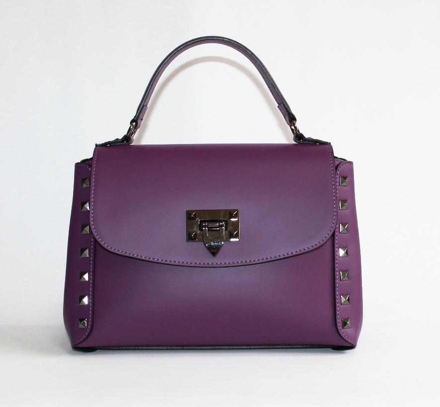 Красивая женская сумочка Италия натуральная кожа.