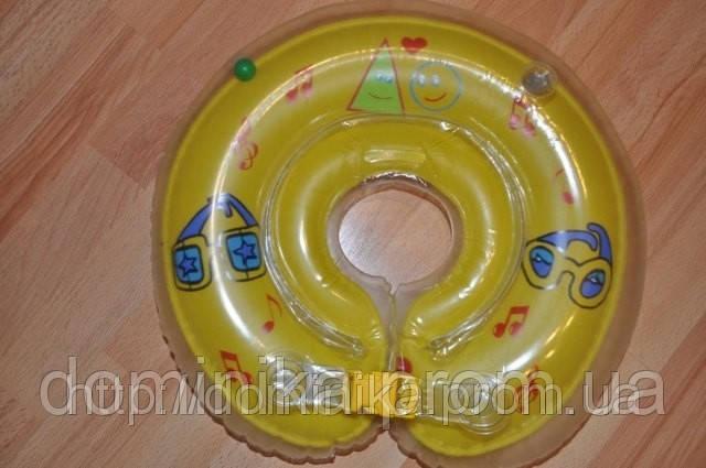 Детский надувной плавательный круг для новорожденных  на шею, деткам от 0 до 2х лет - Товары для дома,отпариватели, аэрогрили,прокладки,товары для детей  «ДОМИНИКА» в Чернигове