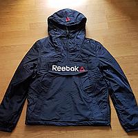 Синяя демисезонная куртка - анорак. XS - XL