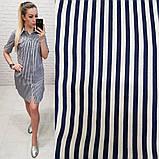 Платье рубашка каттоновая, фото 4