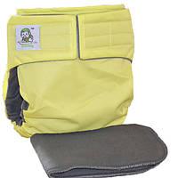 Многоразовый подгузник CoolaBaby Макси Премиум  Бамбуково-Угольный для более старших деток (от 15 до 25 кг)