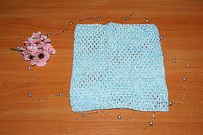 ТОП-сетка для плаття туту цвет аква, фото 2