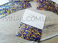 Конфетти для декора ногтей № 9006