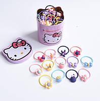 Набор резинок для волос   Детские резинки  20 штук  Комплект резинок Подарочный набор Прекрасный подарок