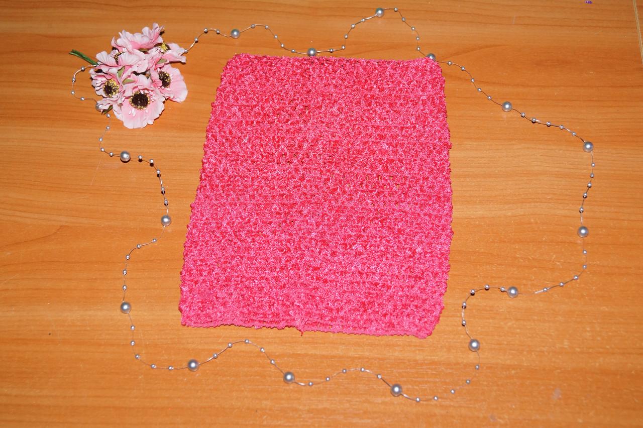 ТОП-сетка для плаття туту цвет малиновый
