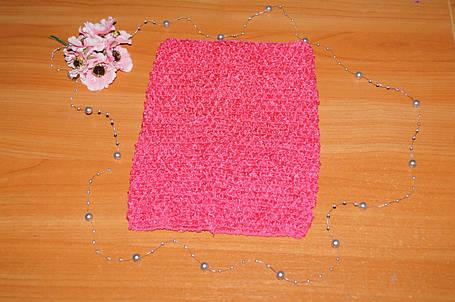 ТОП-сетка для плаття туту цвет малиновый, фото 2