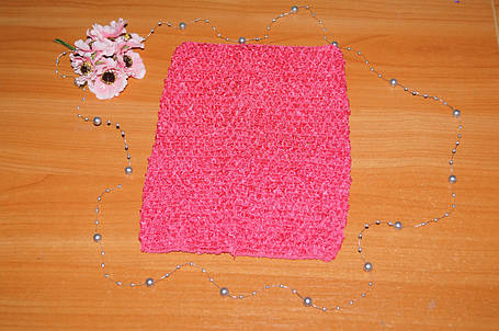 ТОП-сітка для плаття туту колір малиновий, фото 2