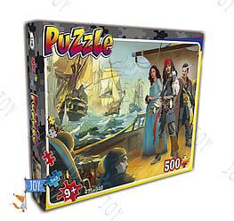 """Гр Пазлы  22205 """"Пираты"""" 500 эл. (10) """"LEO"""""""