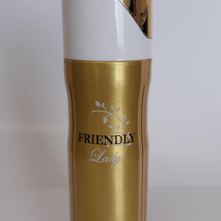 Парфюмированный дезодорант Friendly Lady W 200 ml