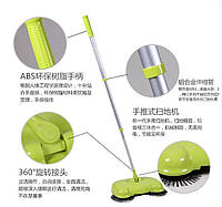 Ручная механическая щётка веник швабра для уборки пола Smart Dustman, Качество