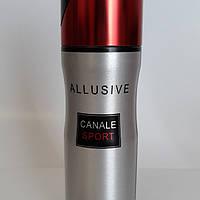 Парфюмированный дезодорант Allusive Canale Sport M 200ml