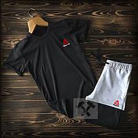 c931d184eb7c10 Летний спортивный костюм. Футболка + шорты Reebok (Рибок) xs,s,m