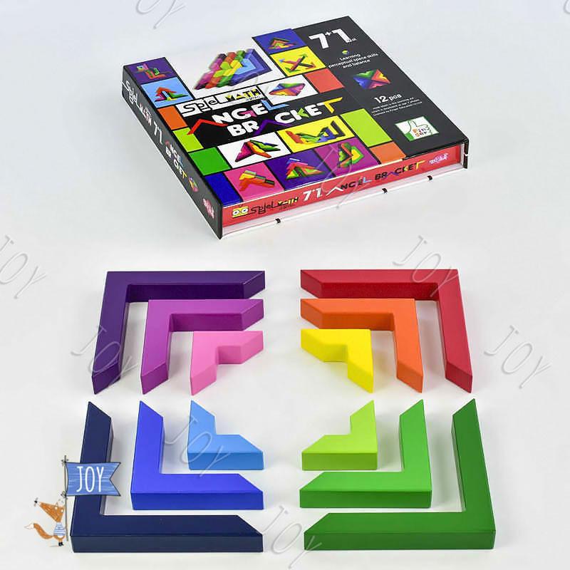 Деревянная логическая игра Уголки C 30295 (38)