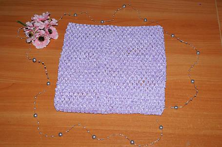 ТОП-сетка для плаття туту цвет лавандовый, фото 2