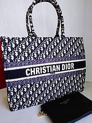 Женская сумка в стиле Dior текстиль