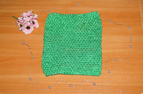 ТОП-сетка для плаття туту цвет зеленый, фото 2