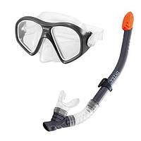 Набор маска и трубка для подводного плаванья Intex 55648 14+ и взрослых