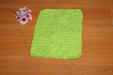ТОП-сетка для плаття туту цвет салатовый, фото 2