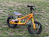 Детский беговел Speed Racer  BRN-2  велобег с ручным тормозом. Надувные колеса на подшипниках !