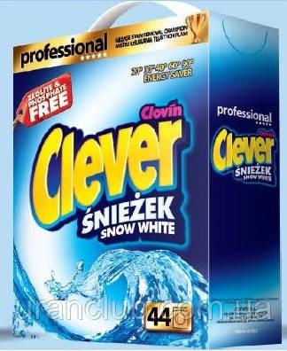 Стиральный порошок CLEVER Professional White  3,3 кг