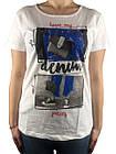 Красивая футболка, Турция, 44-46-48рр, фото 2