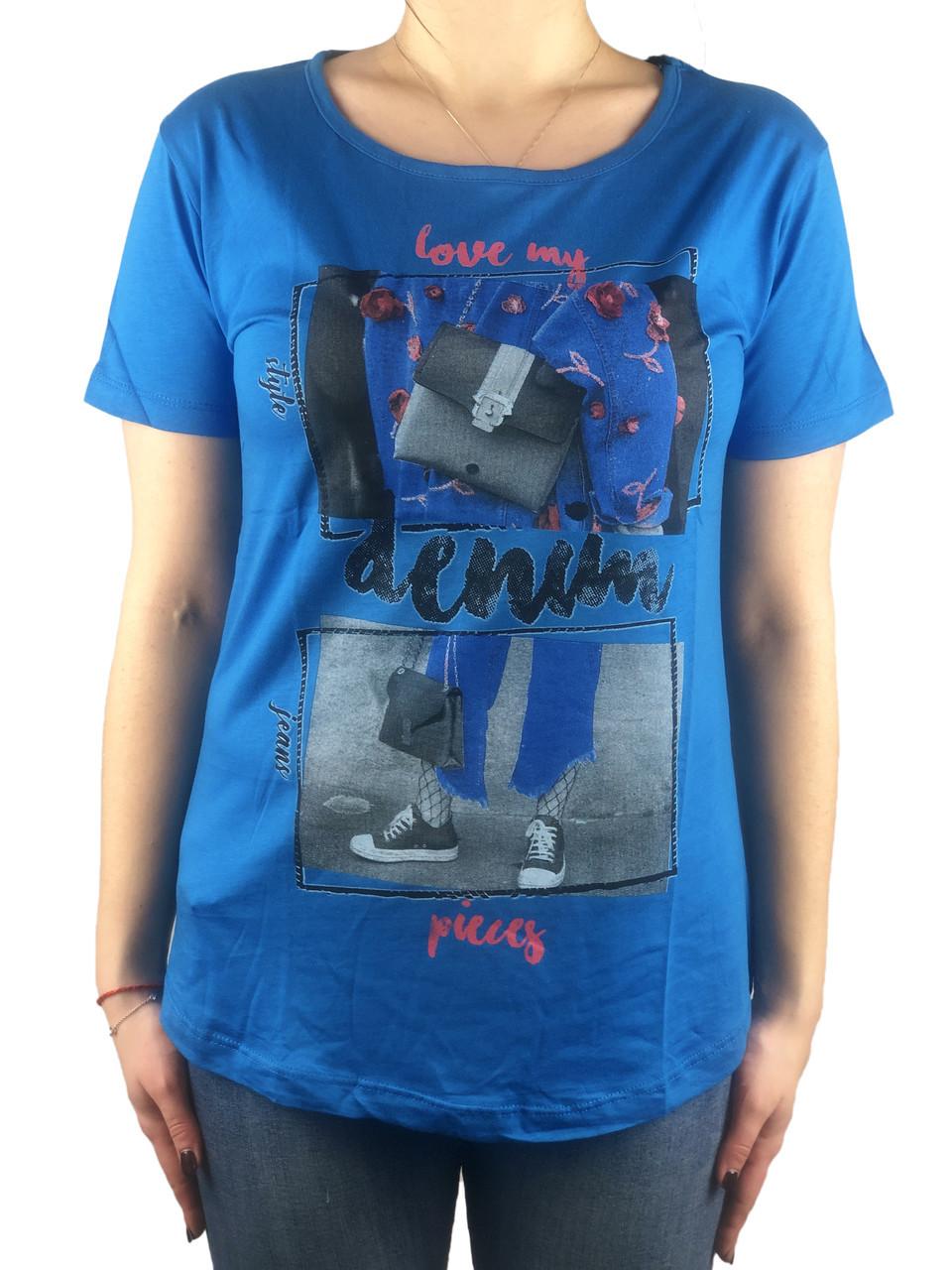 Красивая футболка, Турция, 44-46-48рр