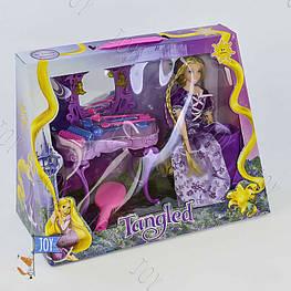Игровой набор ZT 8682 (24) кукла + туалетный столик, звук, свет, с аксессуарами, 2 вида, в коробке